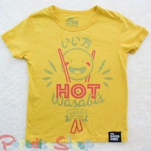 *The Good Ones* (MJC) Hot Wasabi Tee. Size 8-10